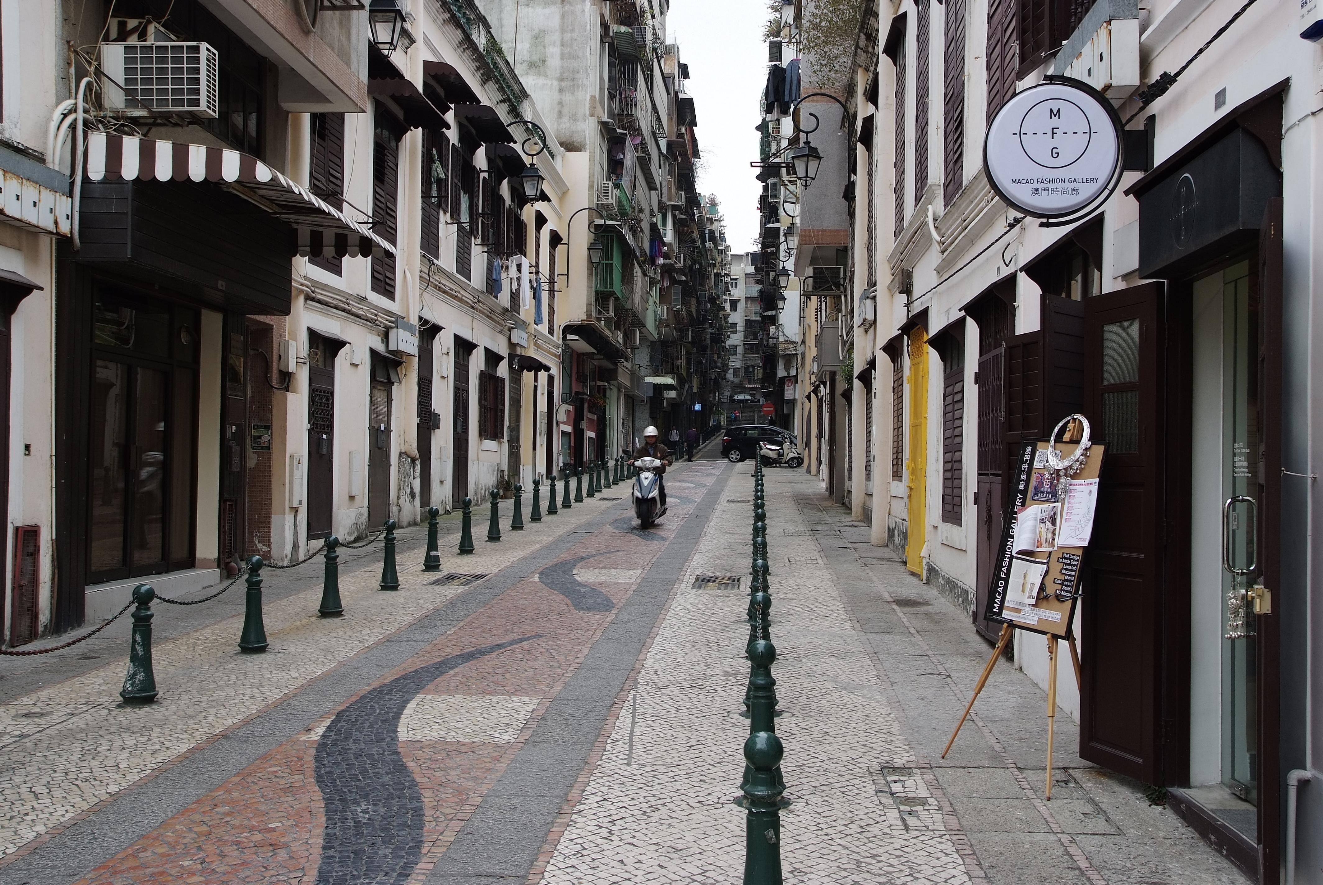 Macau의 어느 거리